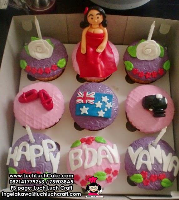 Cupcake Ulang Tahun Untuk Cewek