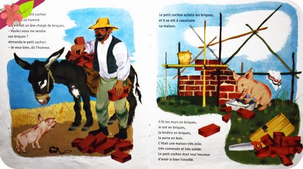 """""""Trois petits cochons """" de Paul-François et Gerda Muller"""