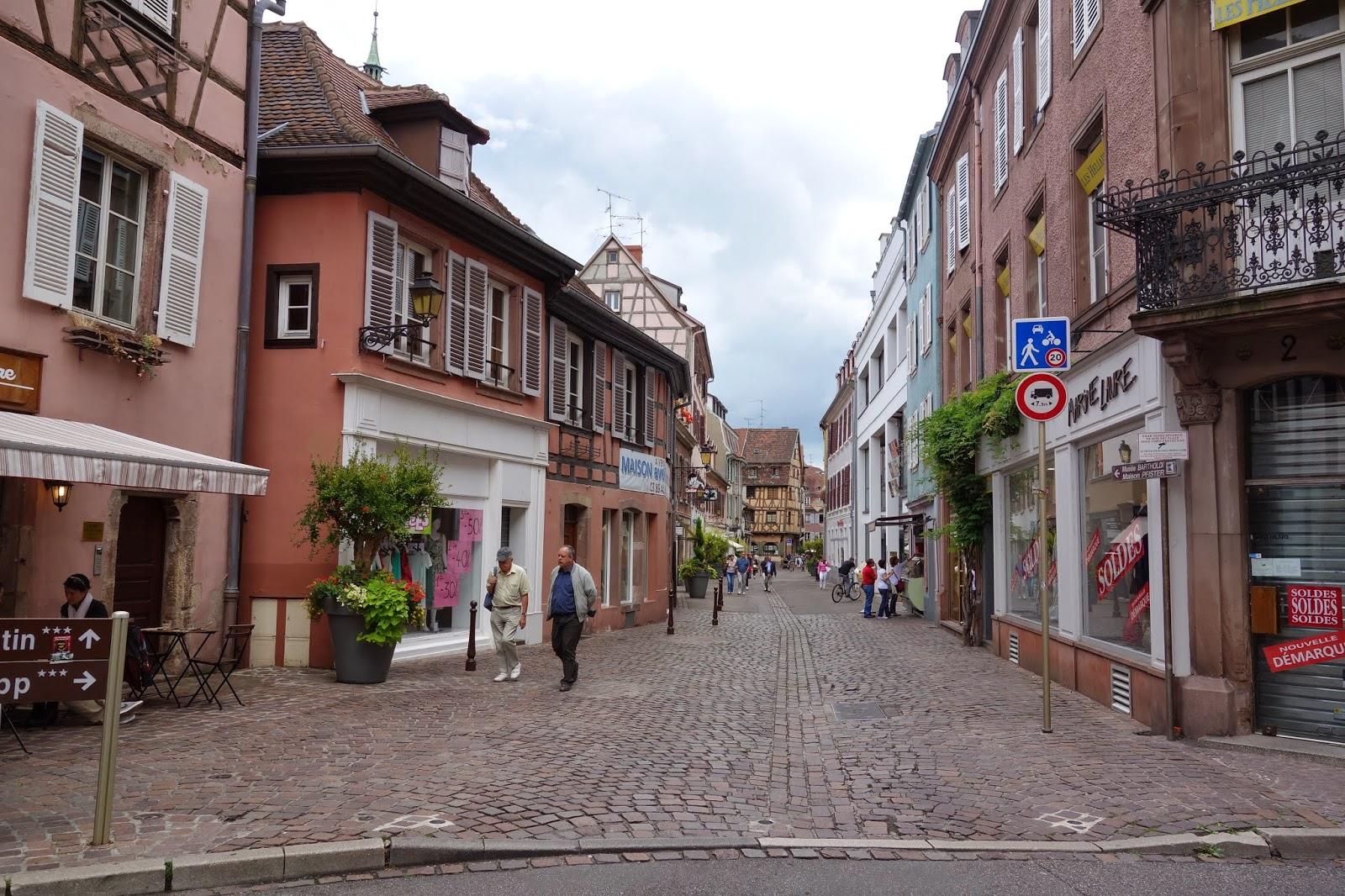Улица Торговцев - начало