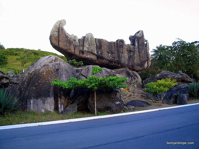 Pedra do Navio, monumento natural do meu município.