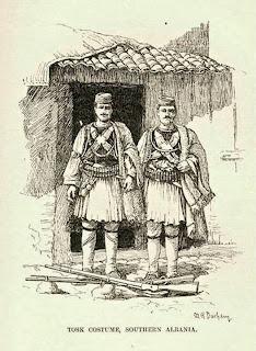 In Grecia vestono il tradizionale vestito popolare albanese