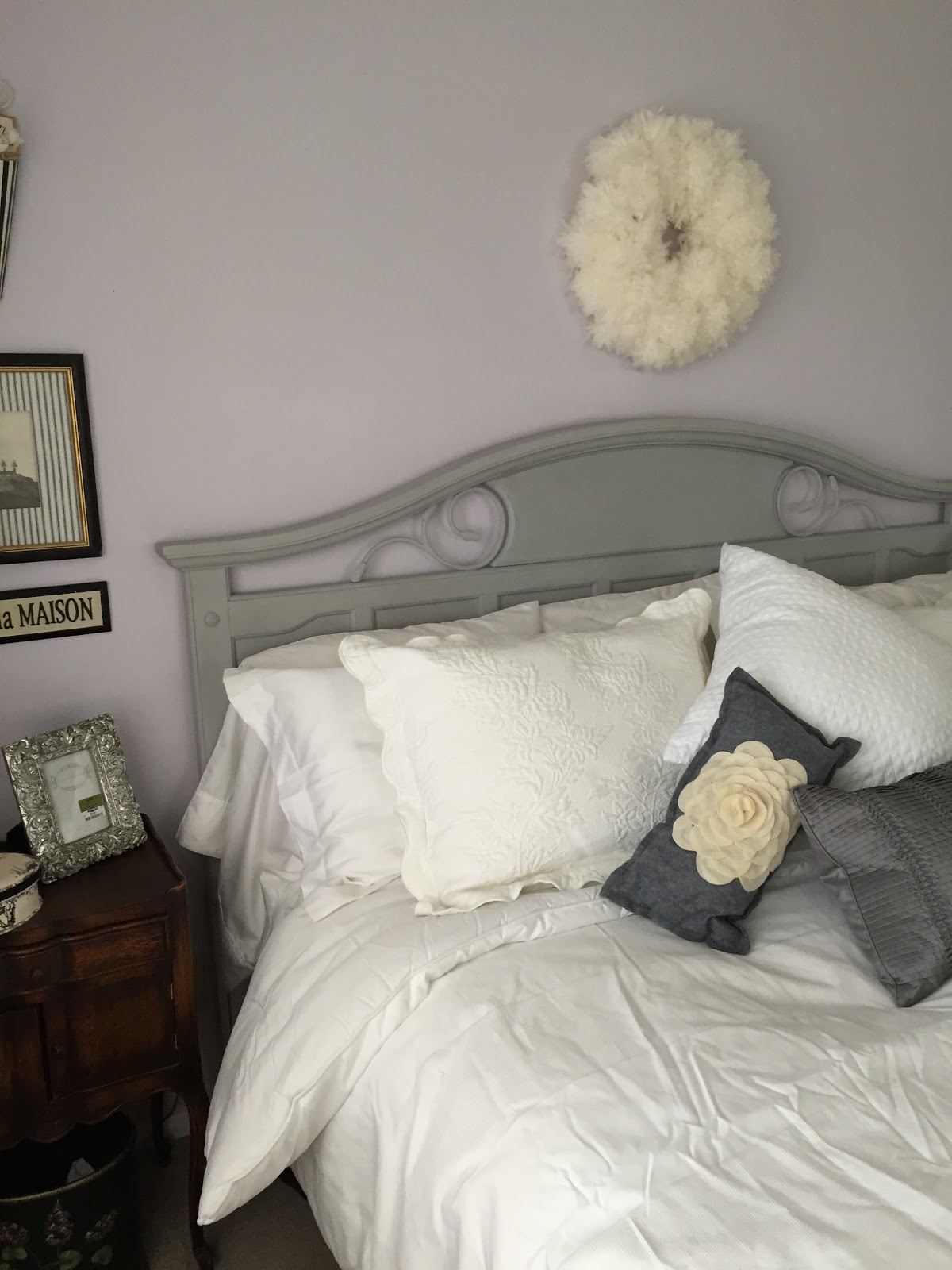 Master Bedroom Makeover Annie Sloan Paris Grey Chalk paint