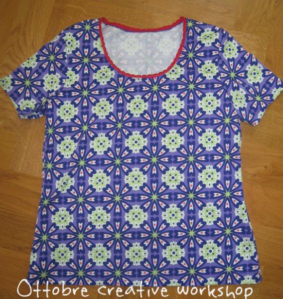 Ottobre workshop womens best shirt