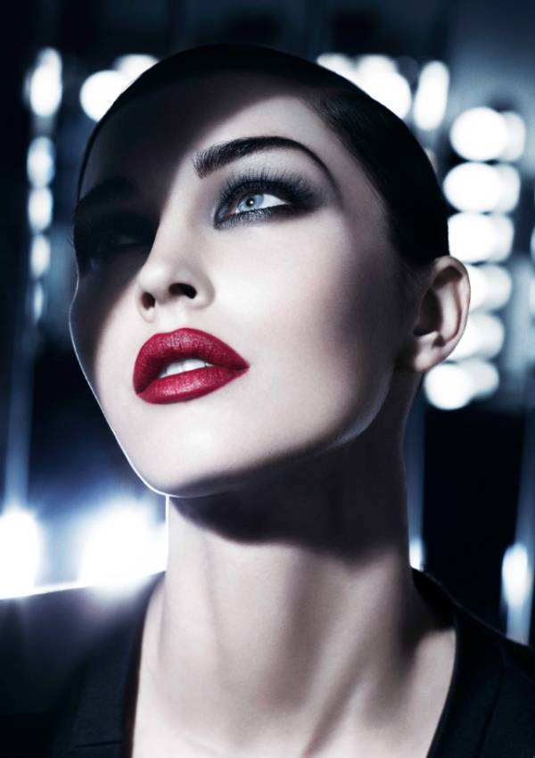 Photoshoot: Megan Fox For Giorgio Armani 2011 Beauty Campaign