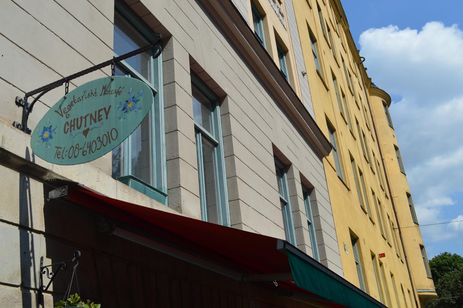 Chutney - Best vegetarian restaurant cafe in Södermalm, Stockholm