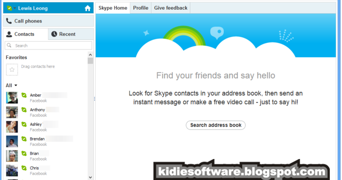 Skype not downloading files