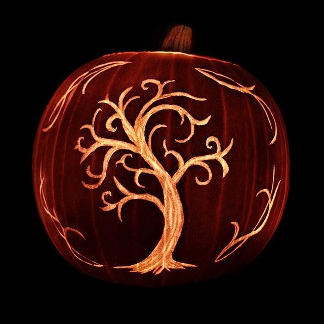 tree pumpkin