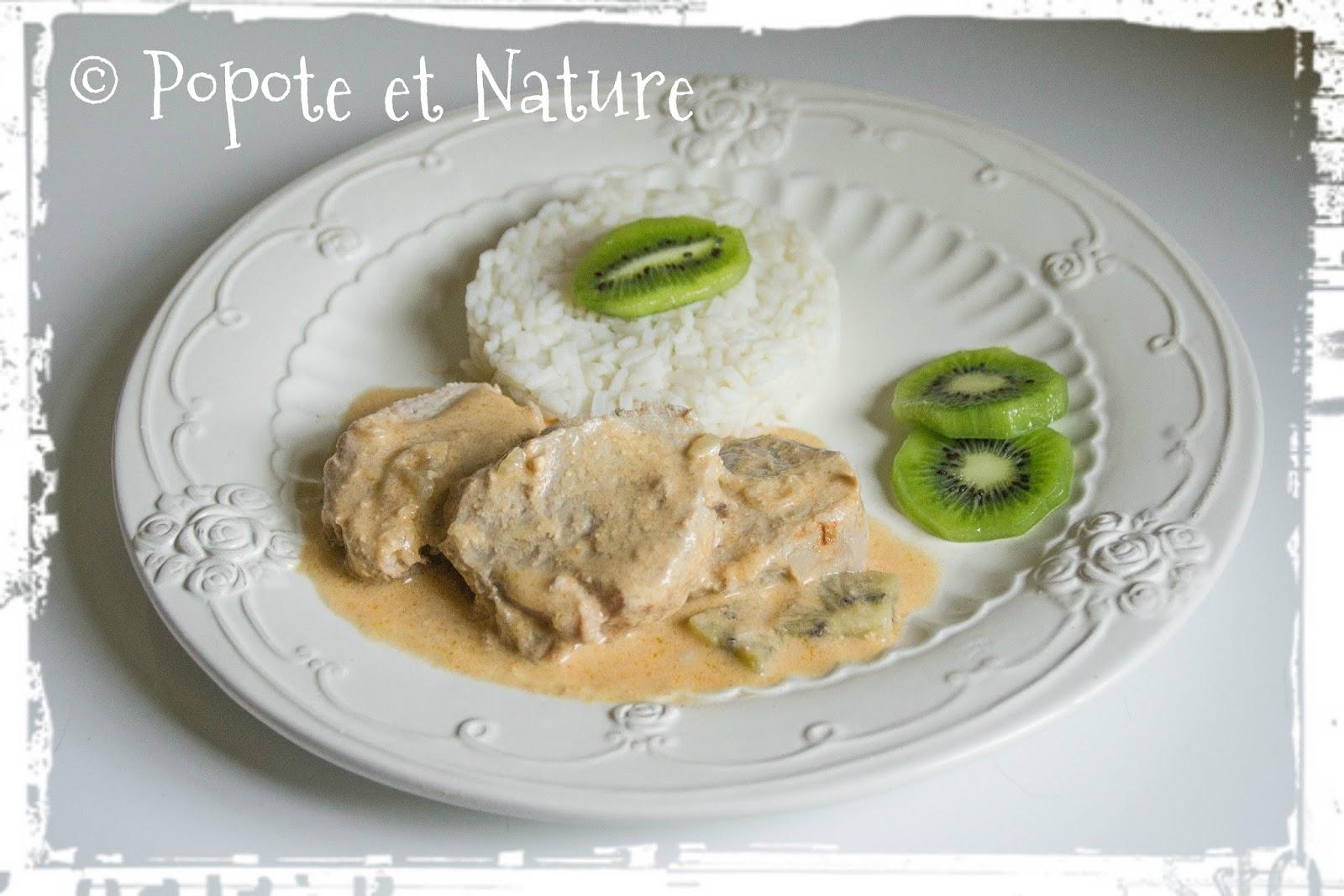 Popote et nature un plat sucr sal pic aux kiwis pour for Cuisine entre copains