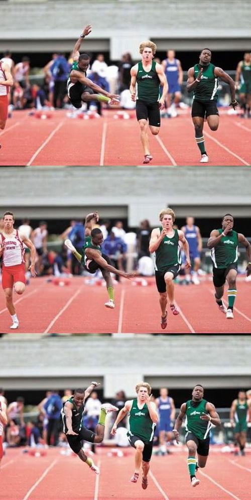 aksi 100 meter yang mengerikan