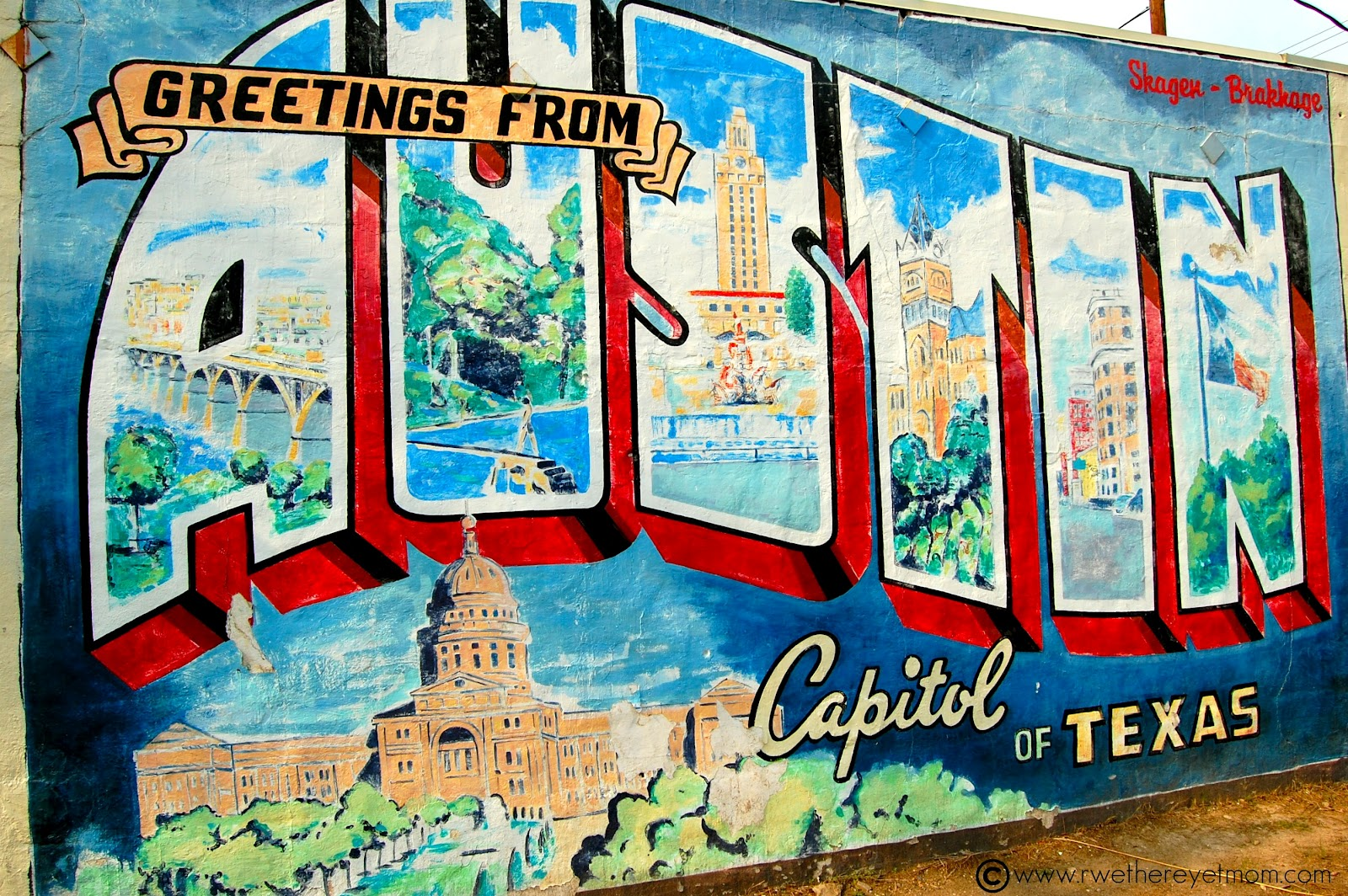 5 great dates in austin texas r we there yet mom for Austin mural location