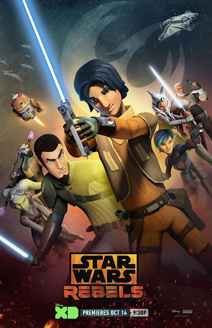 Star Wars Rebels Season 2 Teaser One Sheet Television Poster