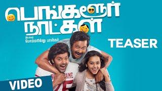 Bangalore Naatkal Official First Look Teaser _ Arya _ Bobby Simha _ Sri Divya _ Gopi Sunder