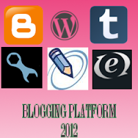 5 Best Blogging Platforms 2012