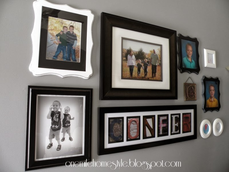 Black and White Gallery Wall How To