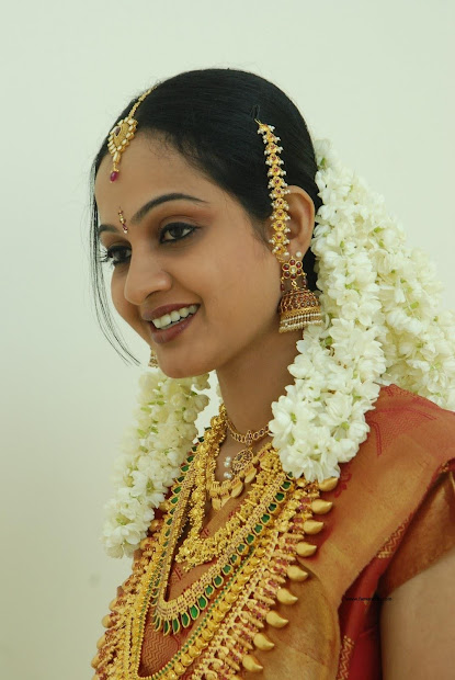 indian kerala bridal jewellery