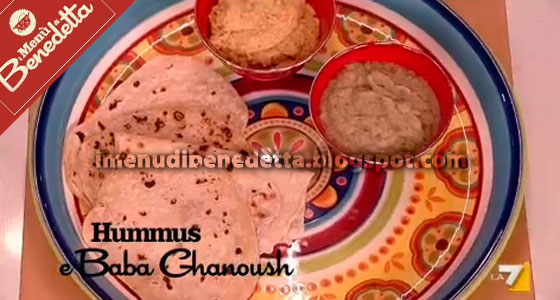 Hummus e Baba Ganush di Benedetta Parodi