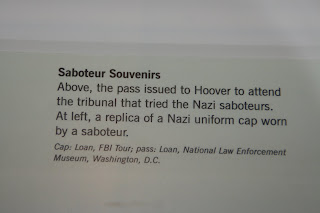 Newseum artifact label, which gives information about the trial pass to museum visitors