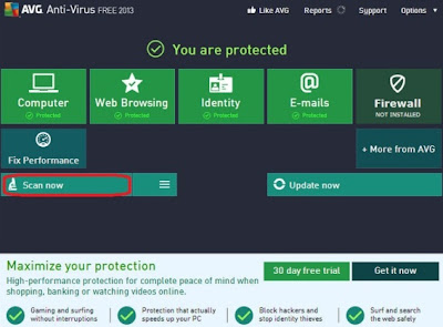 AVG Anti-Virus 3