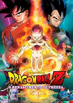 Dragon Ball Z - O Renascimento de Freeza BluRay Filmes Torrent Download capa