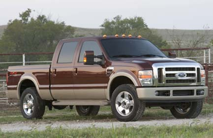 Owners Manual Ford F-250 / 350 / 450 model 2008 - Free Download repair service owner manuals ...