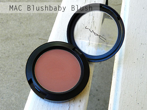 mac blushbaby blush