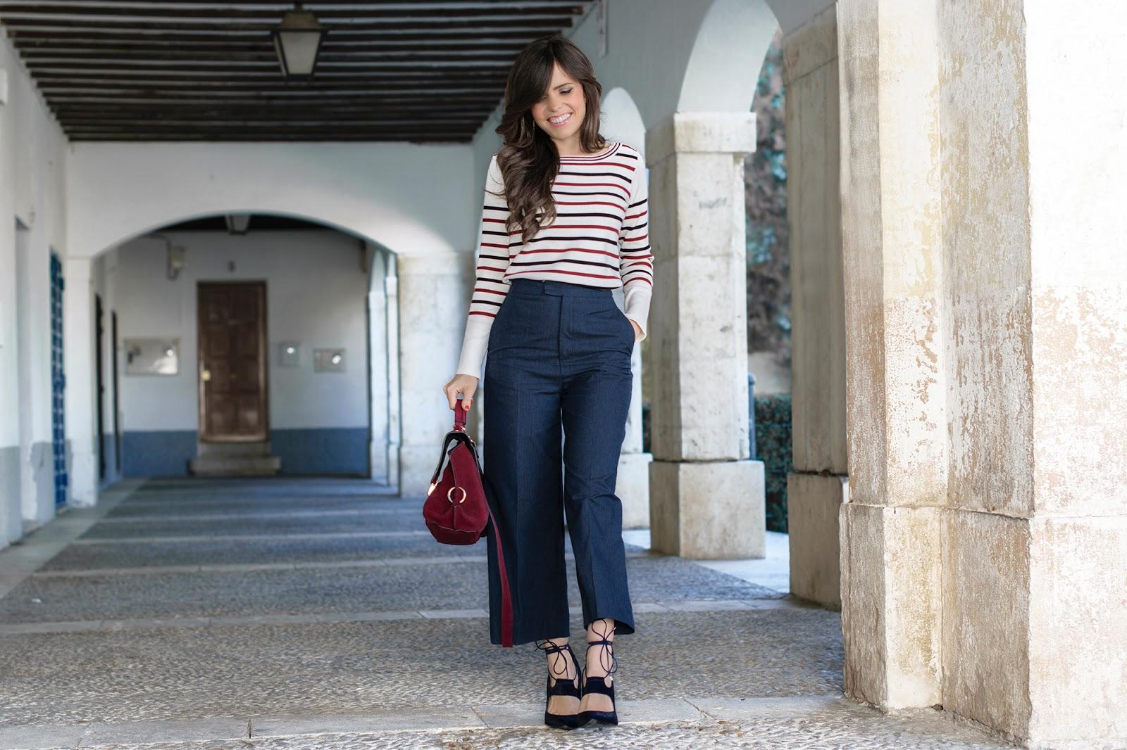 Total look de Zara con culottes