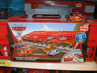 Disney Cars 2 World Grand Prix Race Launcher