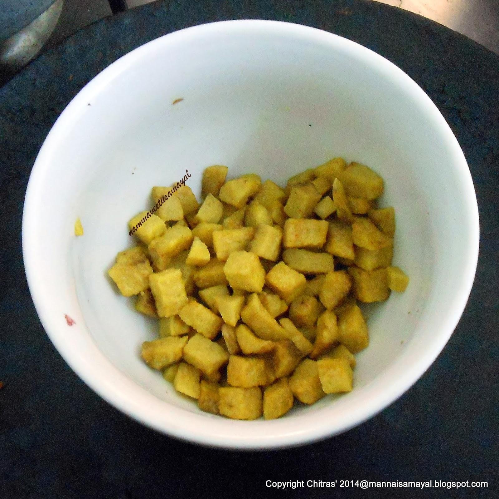 Microwaved Senai [ Yam ]