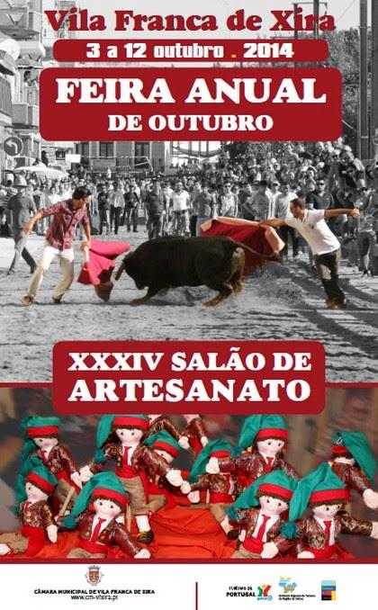 Vila Franca de Xira- Feira Anual 2014- 3 a 12 Outubro
