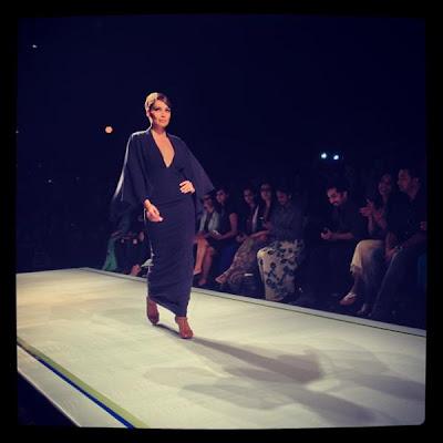 Bipasha Basu stunning walks on the ramp for Shantanu & Nikhil at Lakhme Fashion Week