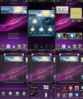 SONY Xperia Z Launcher