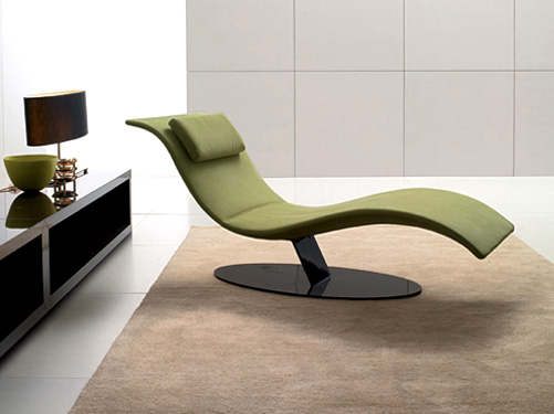 Living room lounge chair