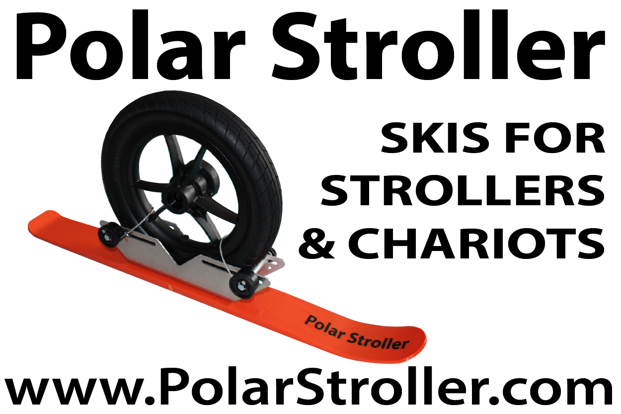 Get Outside with Polar Stroller Skis