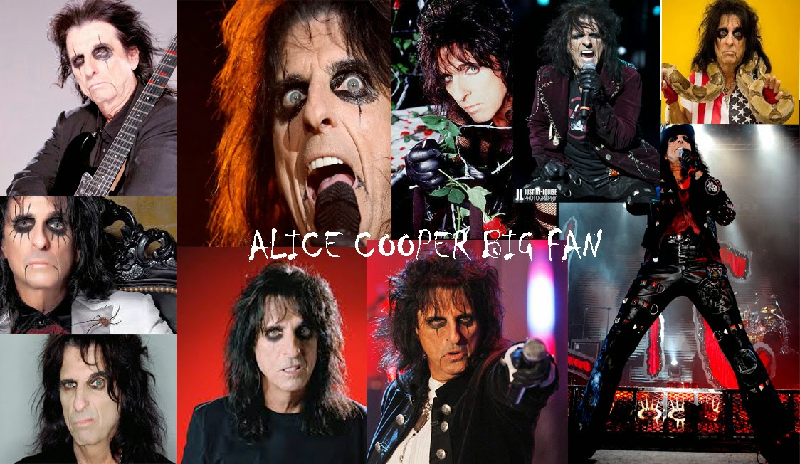 ALICE COOPER BIG FAN