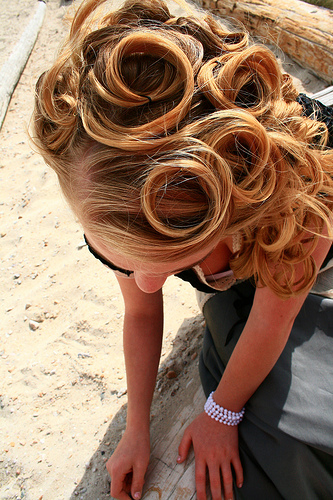 Pin Curl Hairstyles