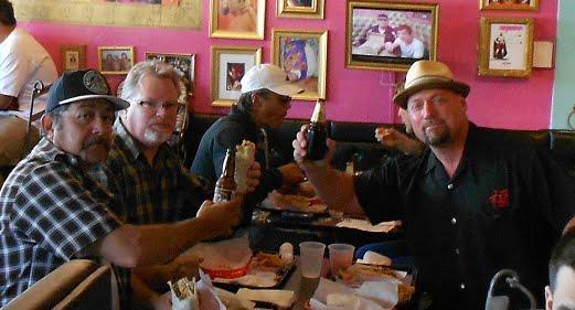 Eddie Arana, Rick Thibodeau, & Chris Bakunas San Diego, Ca. March 2012