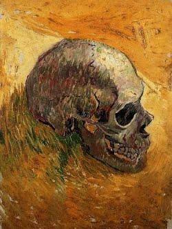 Crânio - Vincent Van Gogh 1888