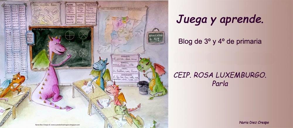 El blog de tercero y cuarto de primaria del Rosa Luxemburgo de Parla