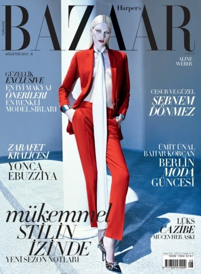 harper's bazaar turkey august 2012