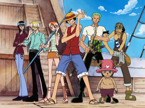 One Piece Gold Roger Crew http://www.aniplogs.com/2011/10/one-piece-anime-list.html