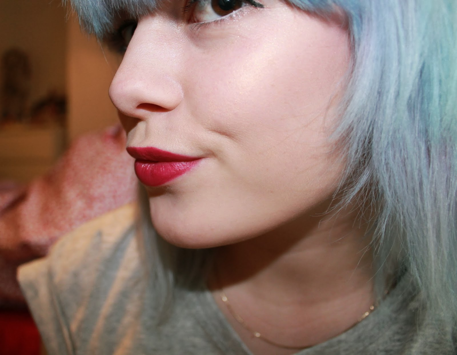 topshop lipstick The Damned review