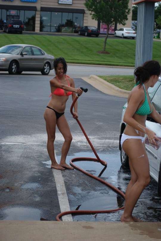 Men have asian car wash damn brandi the