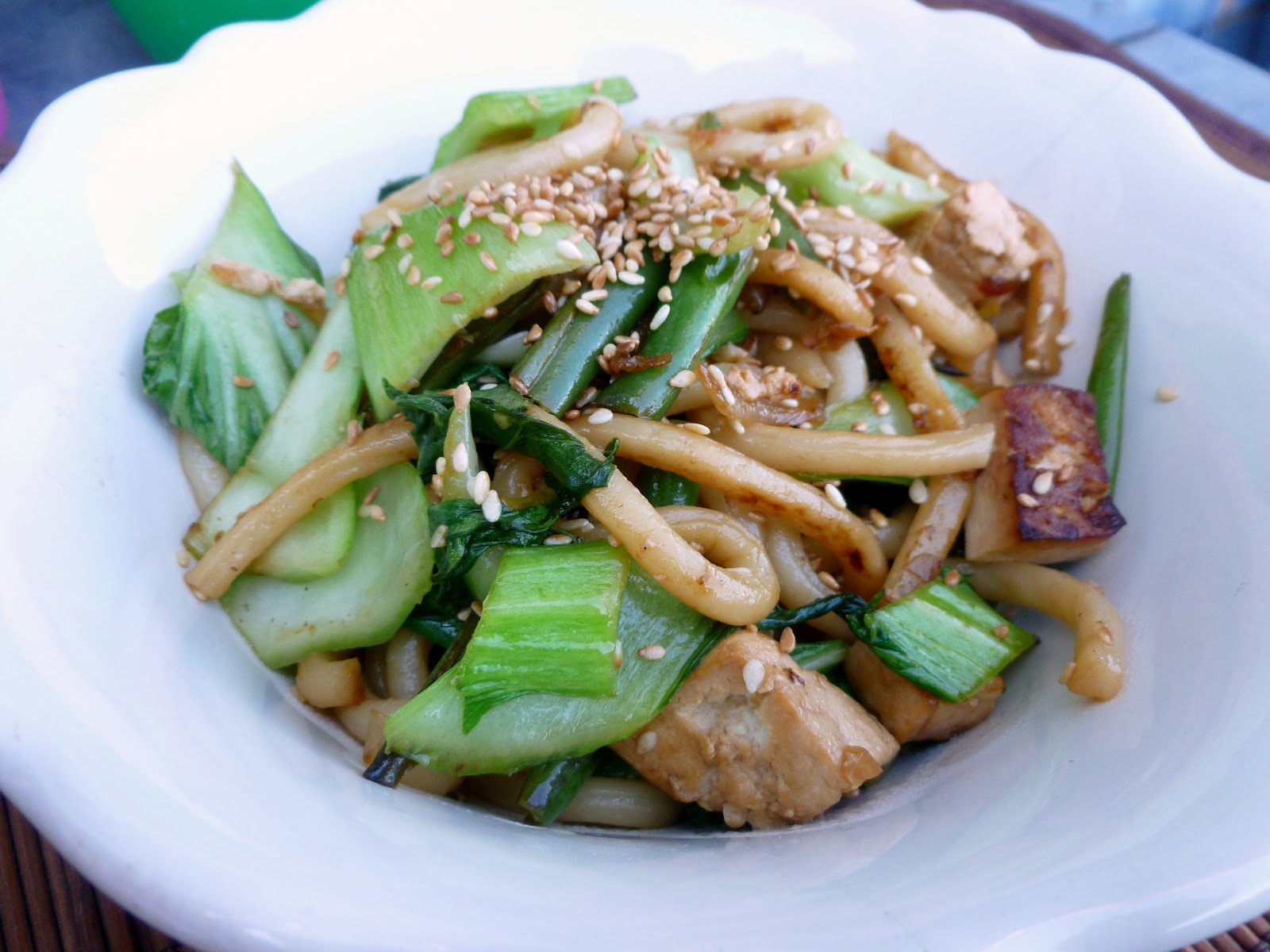 Kirsten's Kitchen: of vegan creations: Simple Udon Noodles