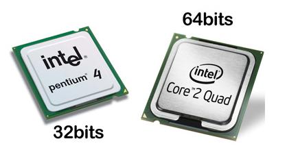 Adsi microprocesadores arquitecturas de 32 y 64 bits for Arquitectura 32 o 64 bits