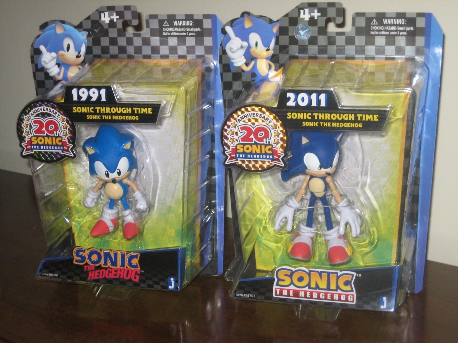 Target Sonic Toys : Sega memories even more jazwares sonic th anniversary