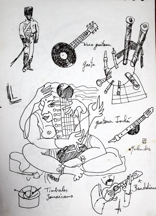 Guitarra indu