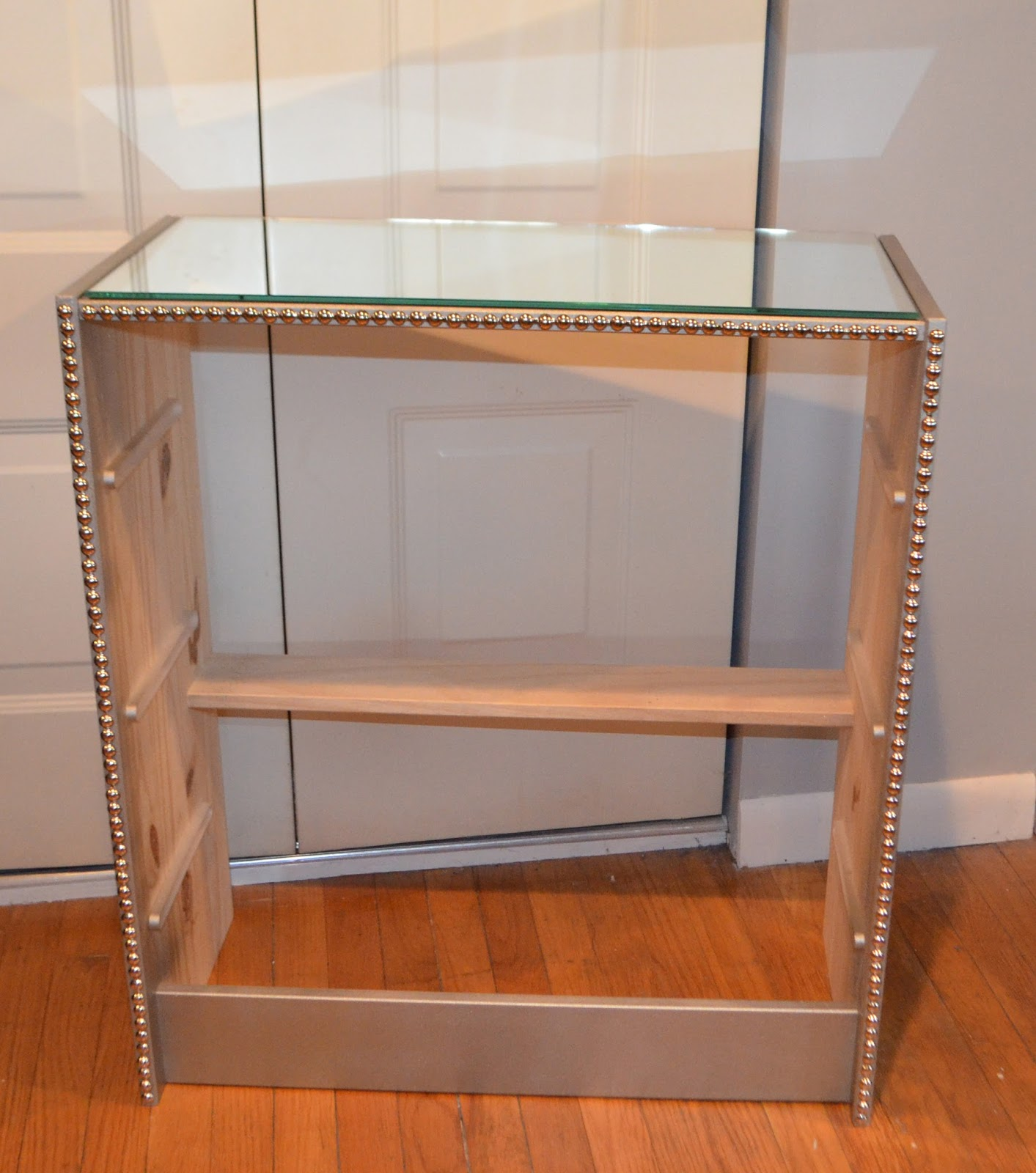 for all things creative DIY Mirrored Dresser TUTORIAL