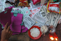 Hungry Ghost Festival: Ghost money