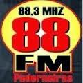 ouvir a Rádio 88 FM 88,3 Pederneiras SP