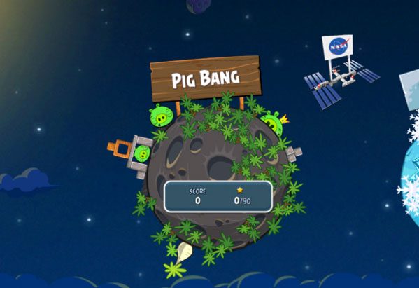 Angry Birds Space Angry Bird Space is now available for download